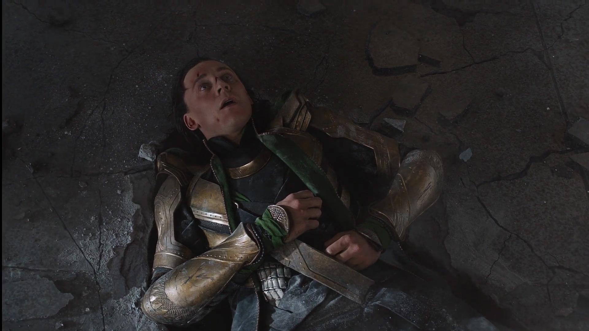 Hier sieht man ihn nach seinem ersten Aufeinandertreffen mit dem Hulk (Quelle: fanpop.com)