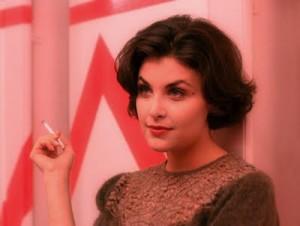 Sherilyn Fenn ist als die zuckersüße Audrey Horne aus Twin Peaks bekannt (Quelle: forestwine.blogspot.com)